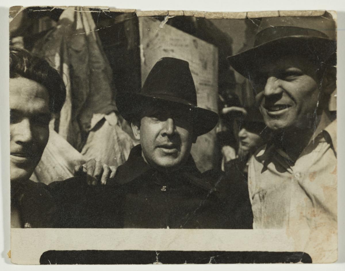 George Cox, David Alfaro Siqueiros, Jackson Pollock, 1936