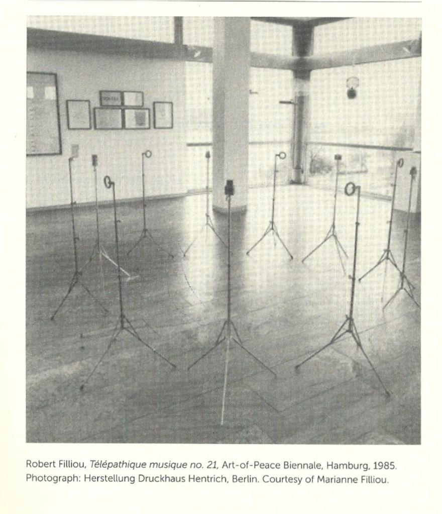 Robert Filliou, Telepathique Musique no. 21, 1985