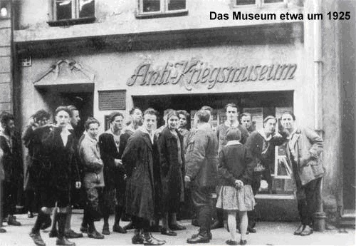 Anti-Kriegs-Museum w Berlinie,1925 / Anti-Kreigs-Museum in Berlin, 1925