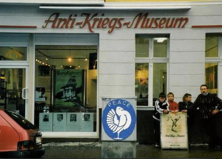 Anti-Kriegs-Museum w Berlinie obecnie / Anti-Kriegs-Museum in Berlin nowadays