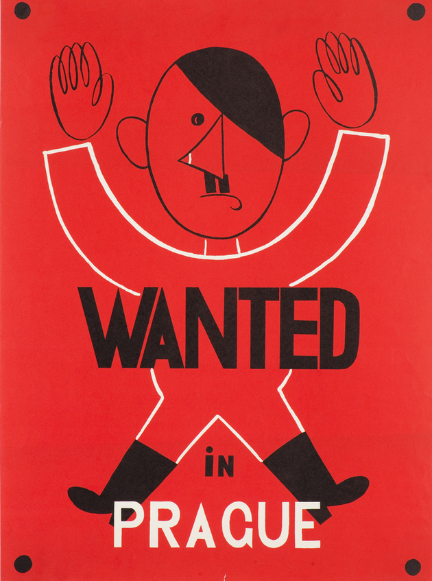 Adolf Hoffmeister, Wanted in Prague, 1942