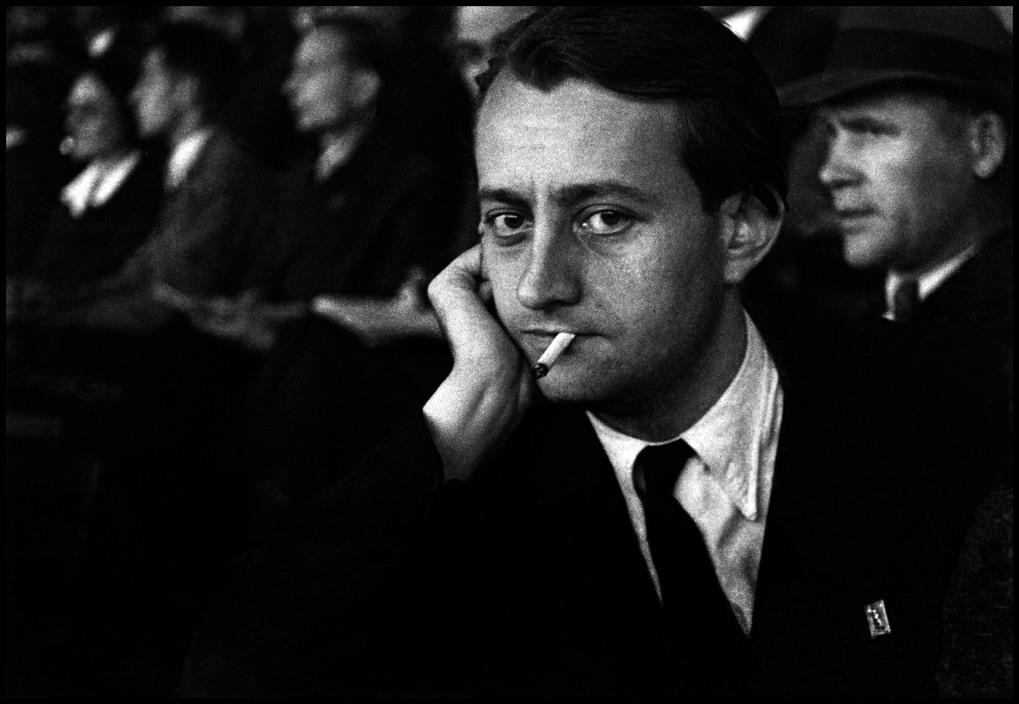 David Seymour, portret André Malraux / portrait of André Malraux 1935 / © David Seymour/Magnum Photos