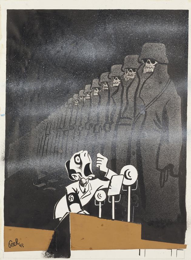 Antonín Pelc, Stalingrad, 1943