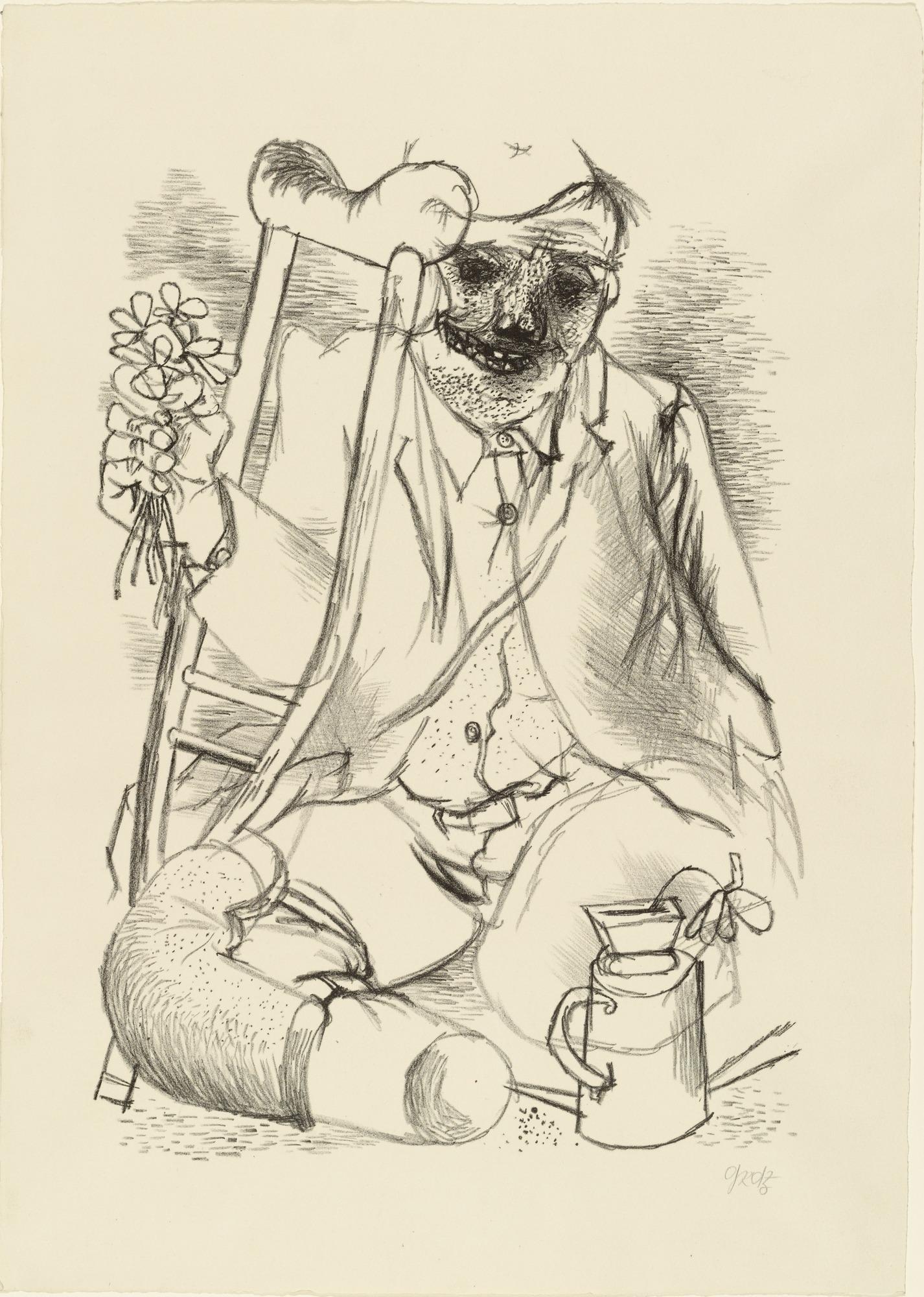 Georg Grosz, Bohater / Hero, 1935