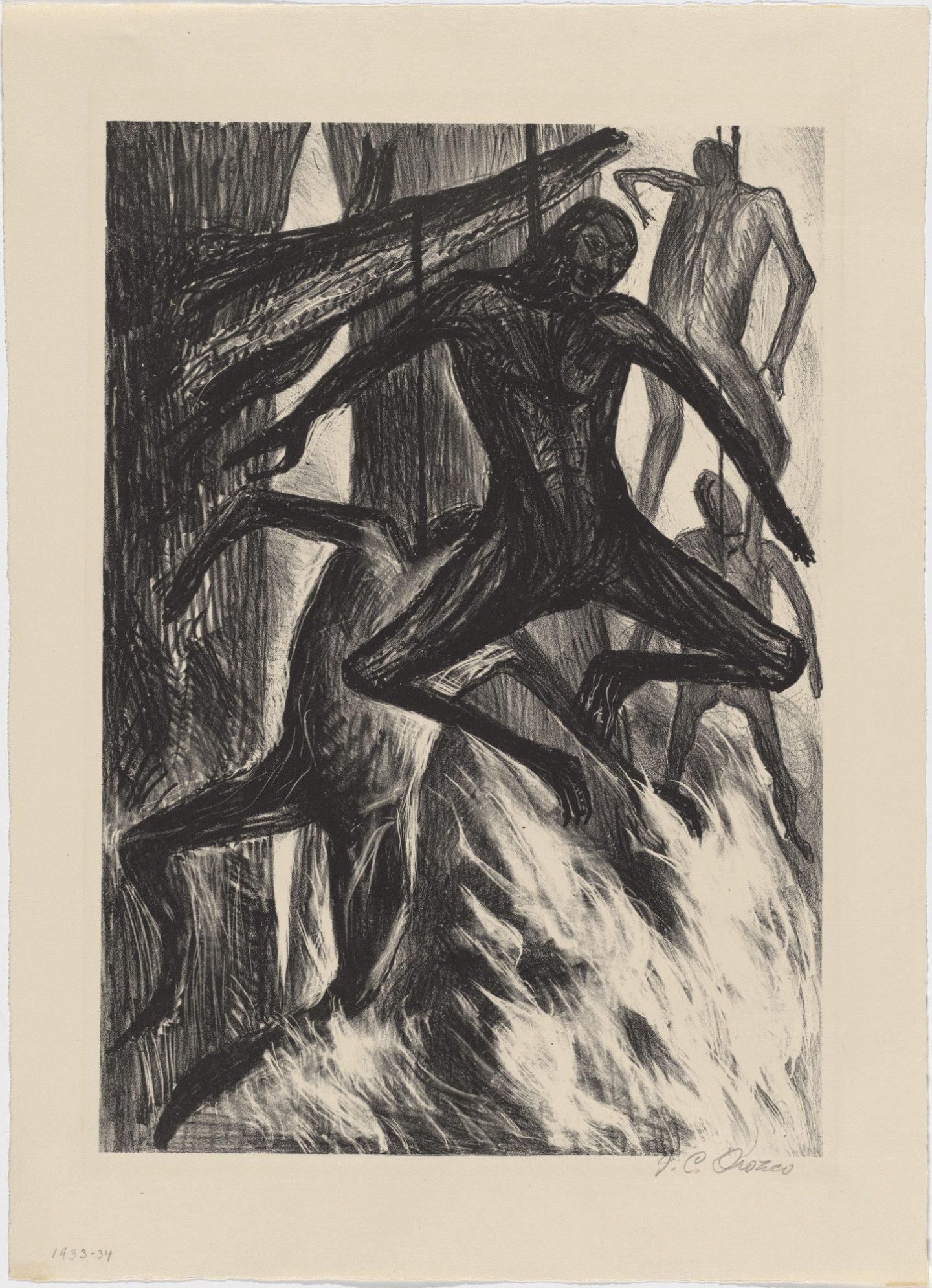 Jose Clemente Orozco, Powieszeni / Hanged 1935