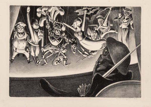 War and Fascism: An International Exhibition of Cartoons, Drawings, and Prints