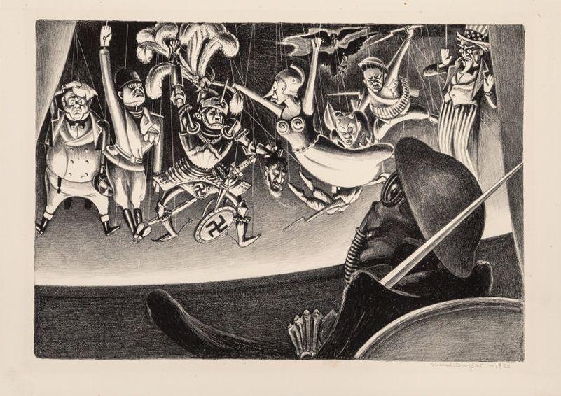 Mabel Dwight, Danse Macabre, 1933