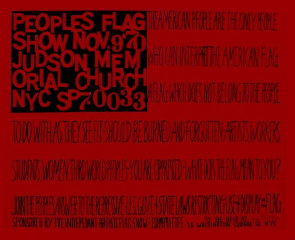 People's Flag Show