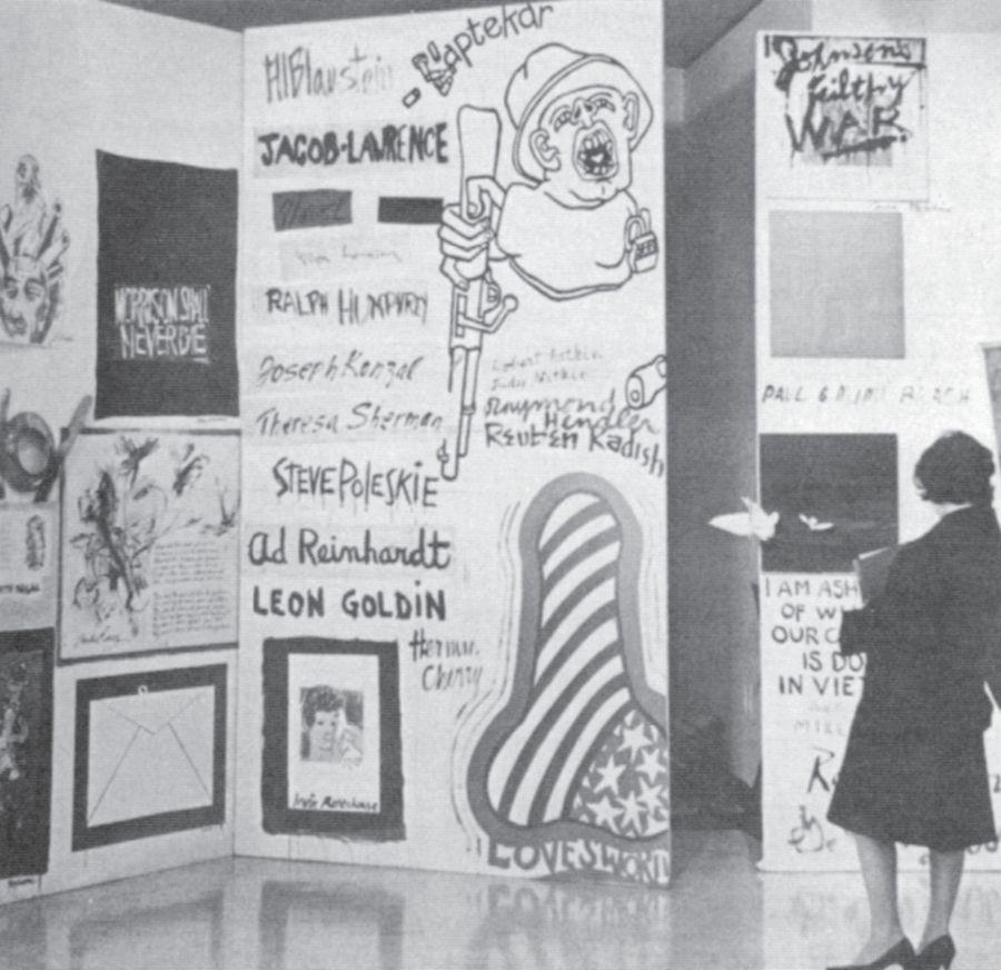 Kolaż oburzenia / Collage of Indignation, Angry Arts Week, 1967