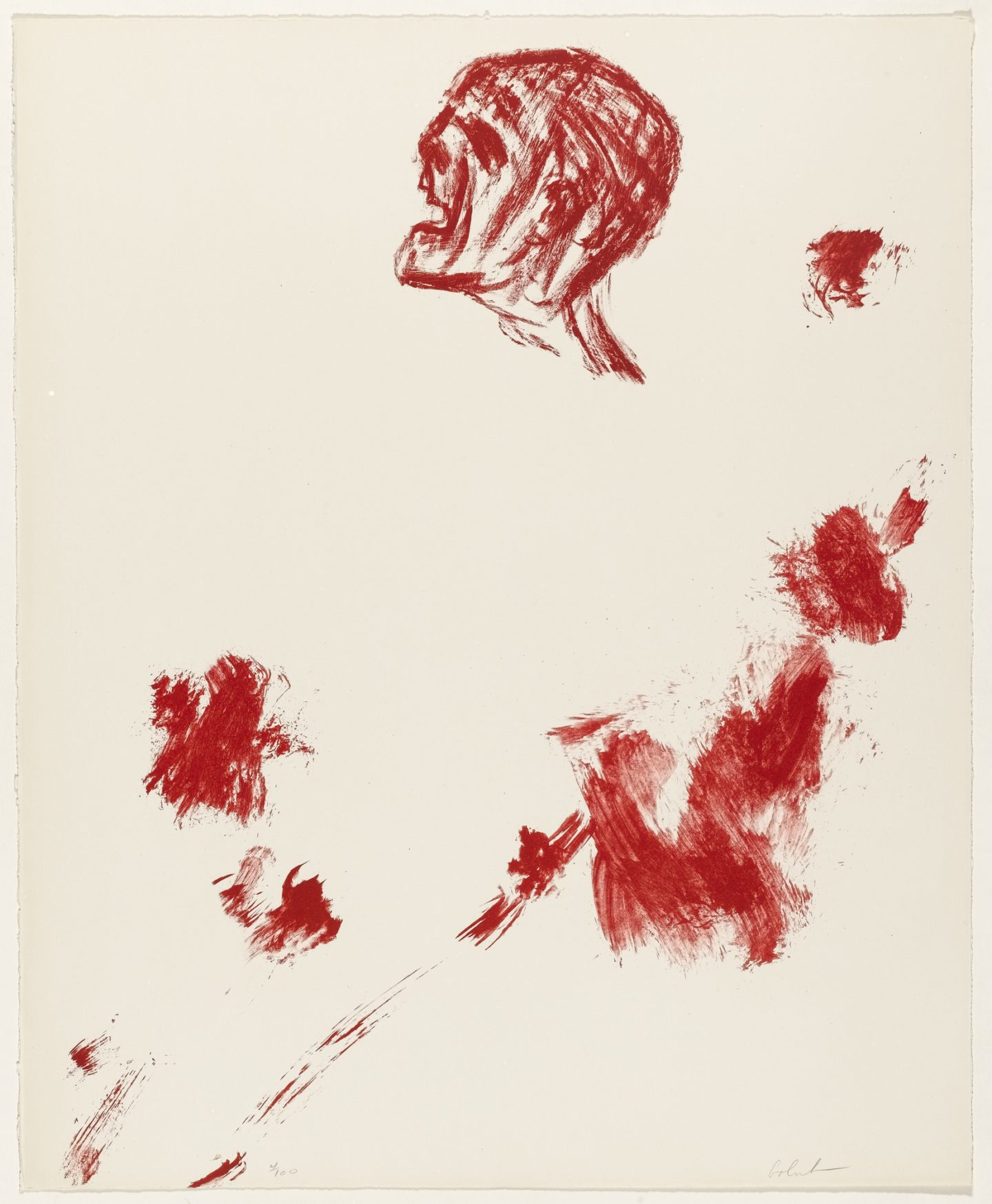Leon Golub, Killed Youth, 1967
