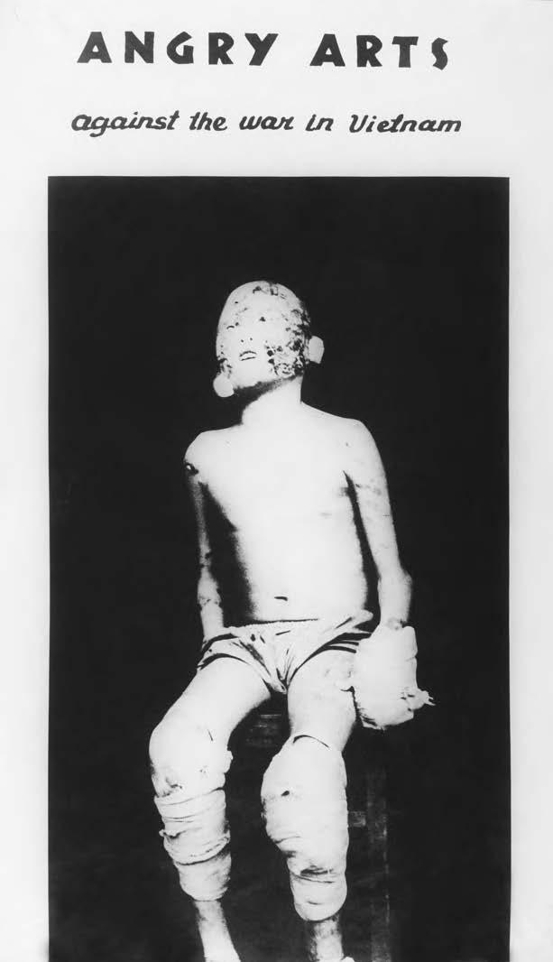Rudolf Baranik, ulotka / flyer for the Angry Arts Week, 1967