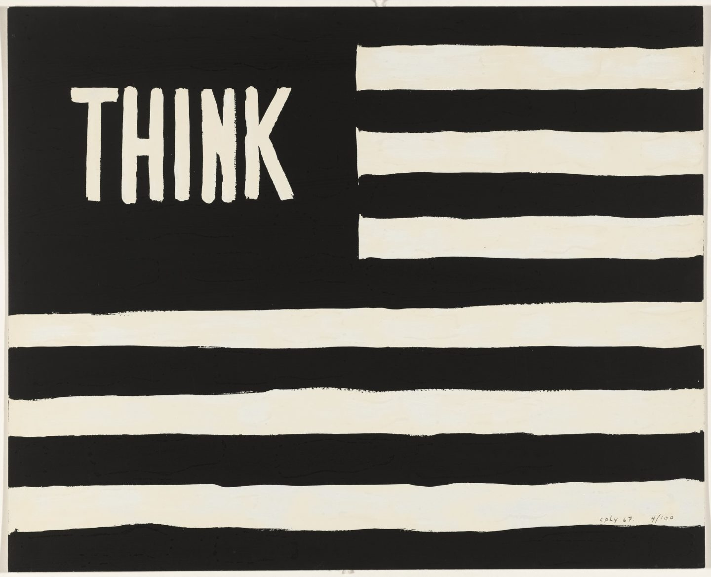 William Copley, Think, 1967