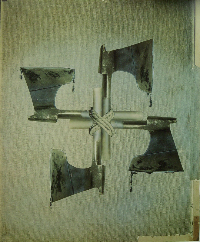John Heartfield, Krew i żelazo/ Blood & Iron, 1934