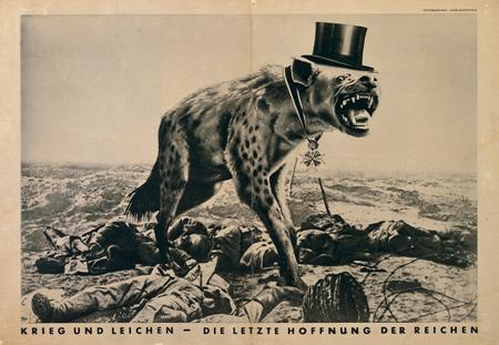 John Heartfield, Wojna i zwłoki - ostatnia nadzieja bogatych / War and Corpses: The Last Hope of the Rich, 1932