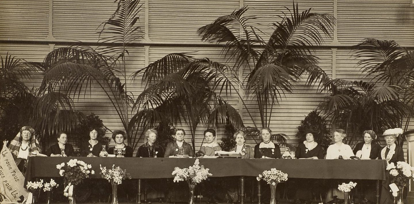 Międzynarodowy Kongres Kobiet, Haga / International Congress of Women, The Hague, 1915
