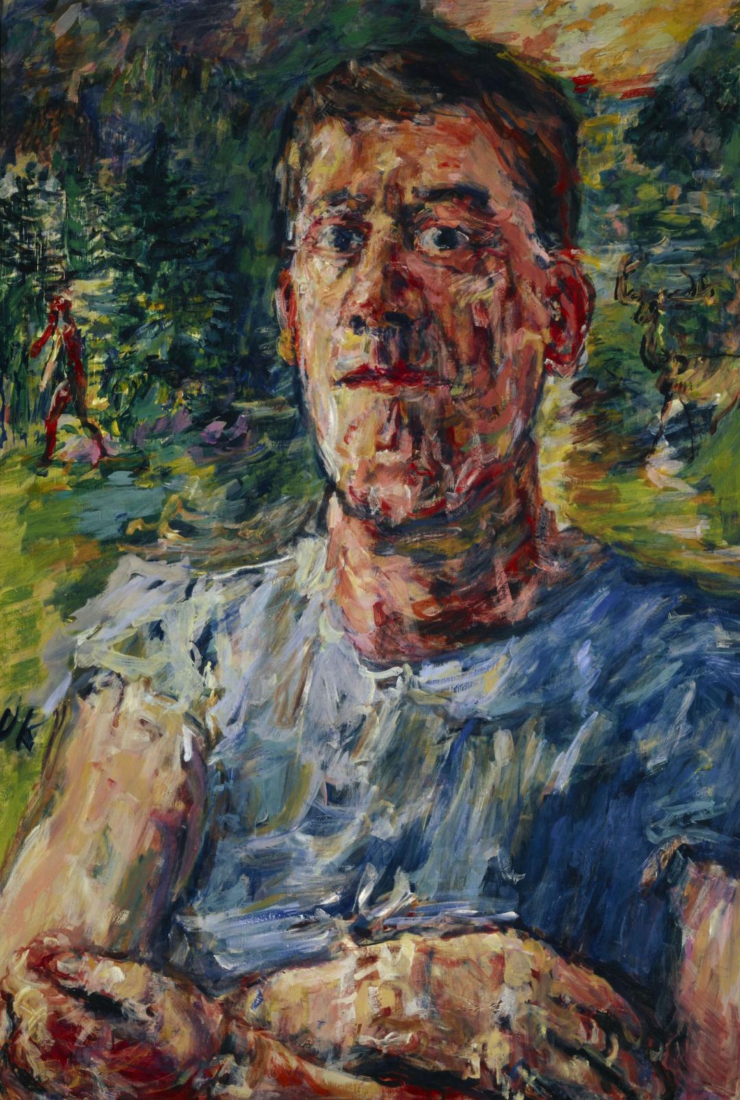 Oskar Kokoschka, Autoportret jako artysta zdegenerowany / Self-portrait as Degenerate Artist, 1937