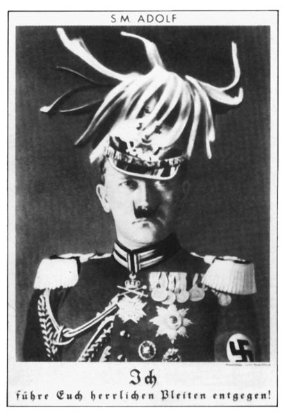 John HeaJohn Heartfield, Jego Majestat Adolf: Poprowadzę Was do wspaniałej ruiny! / His Majesty Adolf: I Lead You to Glorious Bankruptcy!, 1932
