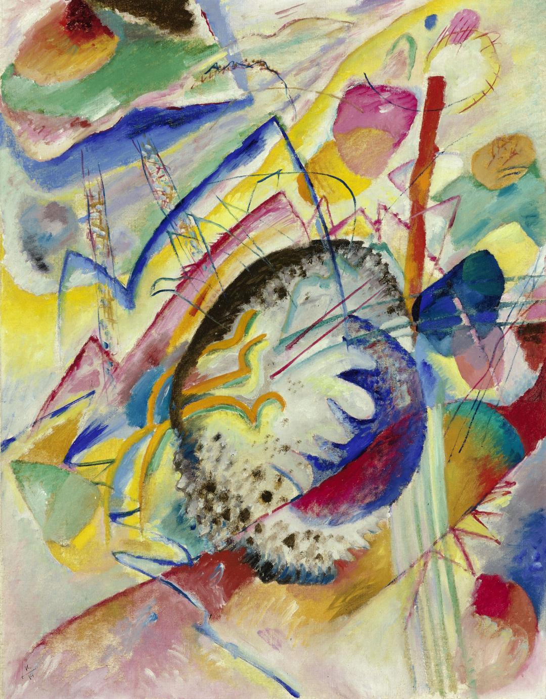 Wassily Kandinsky, Bez tytułu (Improwizacja II) / Untitled (Improvisation II), 1914