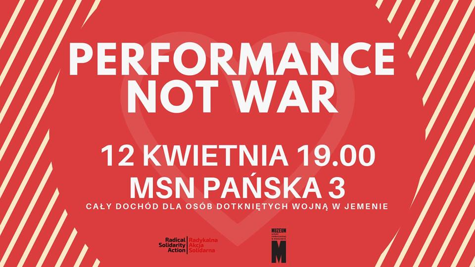 Performance Not War