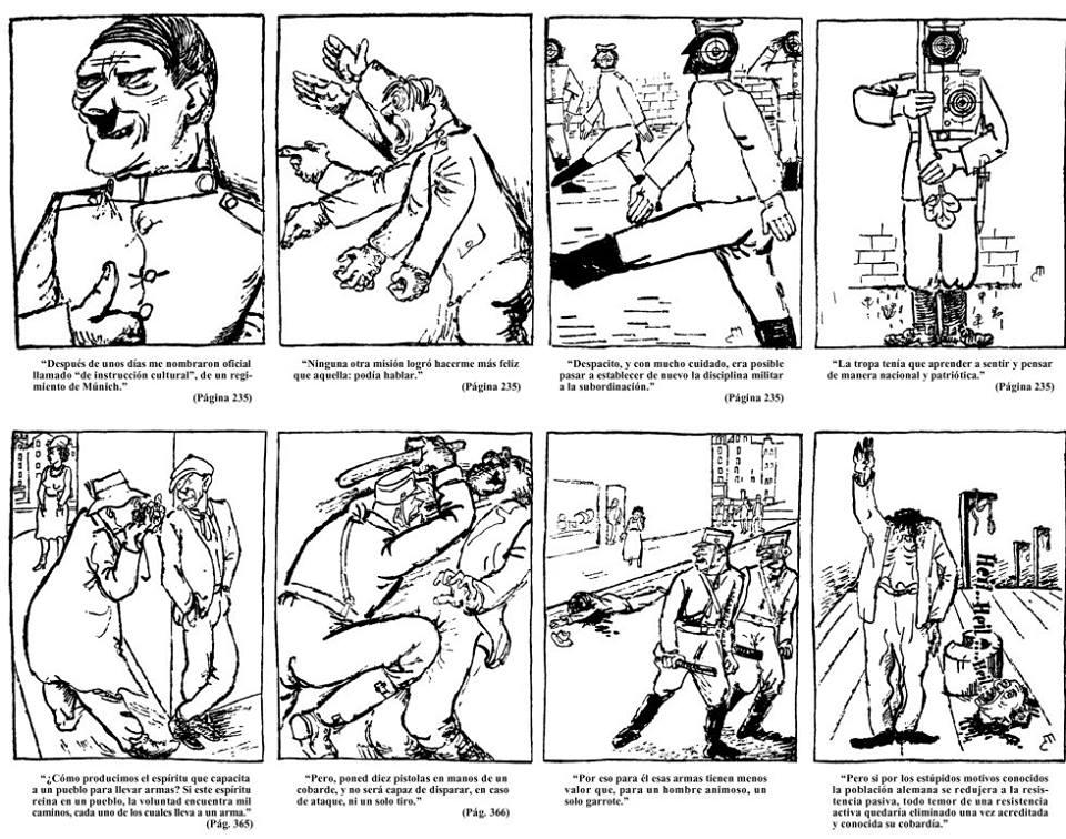 Clement Moreau, Mein Kampf Ilustrado