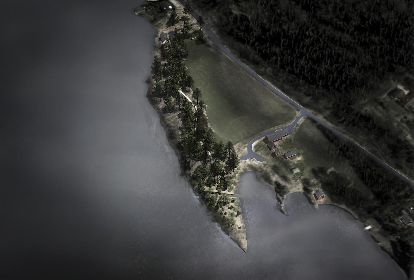 Jonas Dahlberg, projekt Memory Wound - upamiętnienie ofiar zamachów 22 lipca 2011, Utøya, 2013-2014.