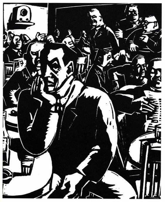 Rys. 55 Clément Moreau (Carl Meffert) - Sein altes Caffee
