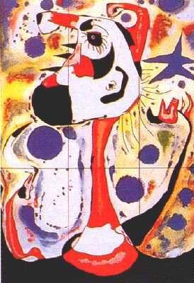 Joan Miró, Żniwiarz, 1937