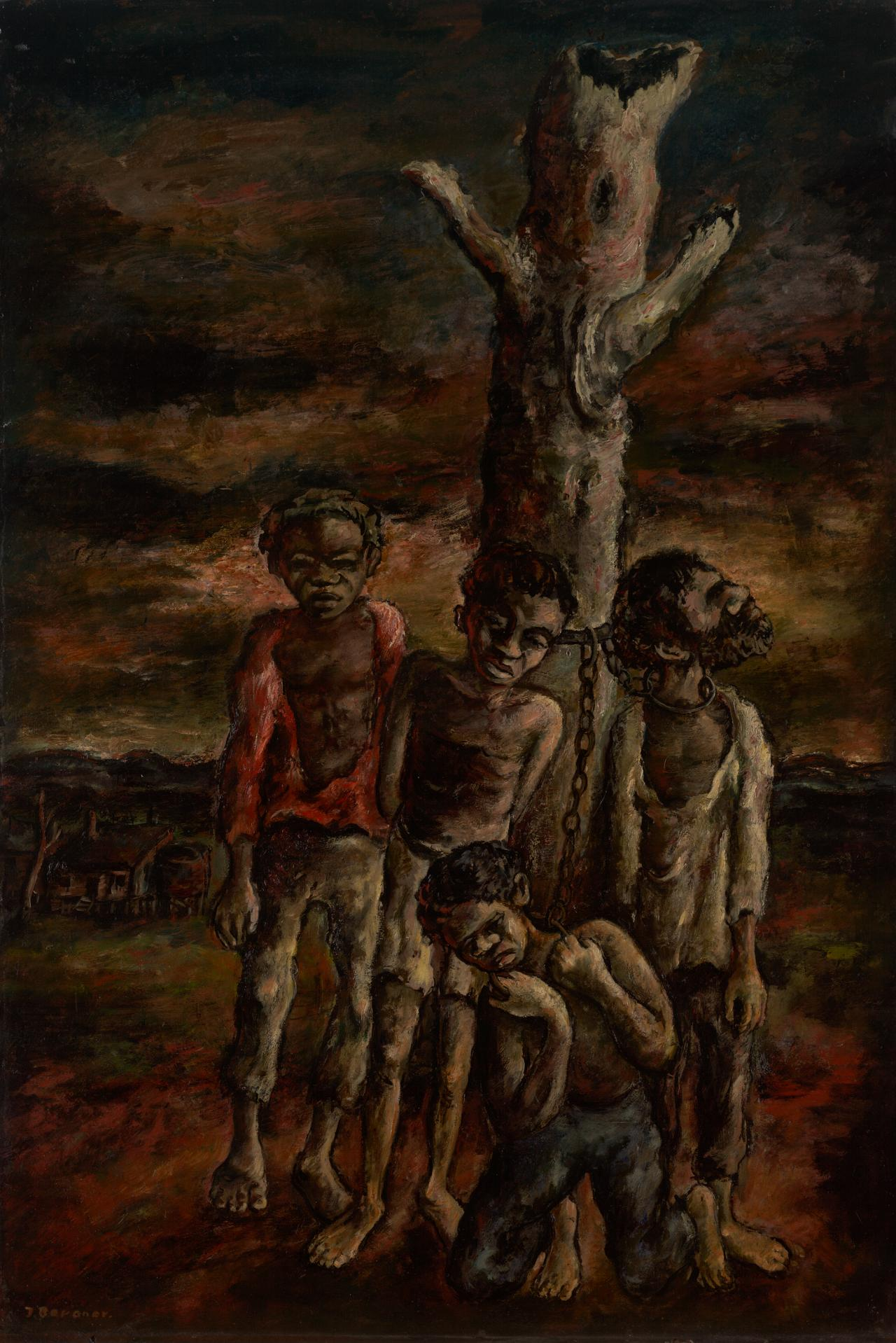 Yosl Bernger, Aborigines, 1944