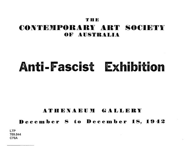 Anti-fascist Exhibition