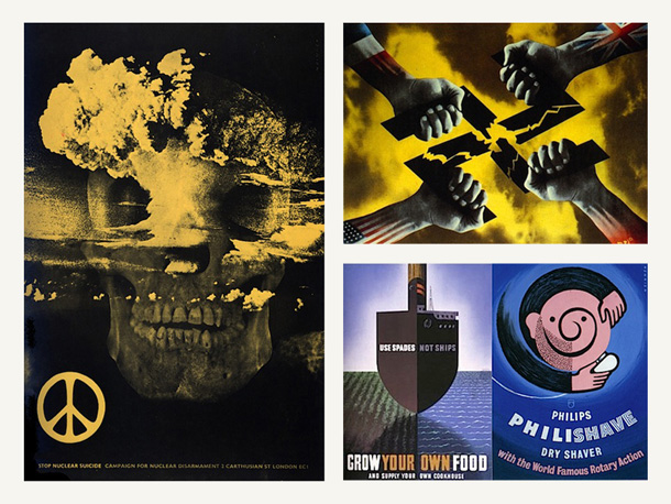 Plakaty antywojenne Henryego Kaya Henriona / Anti-war posters by Henry Kay Henrion