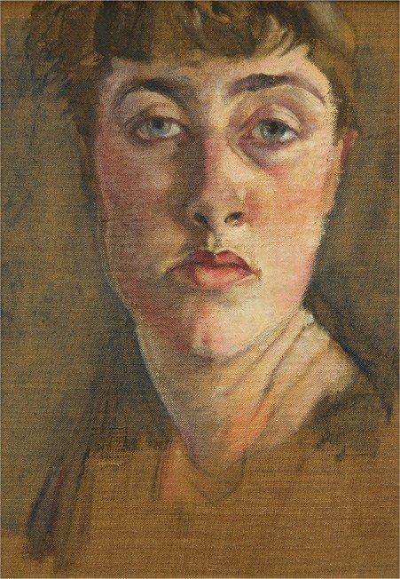Felicia Browne, autoportret / self-portrait, niedatowany / undated