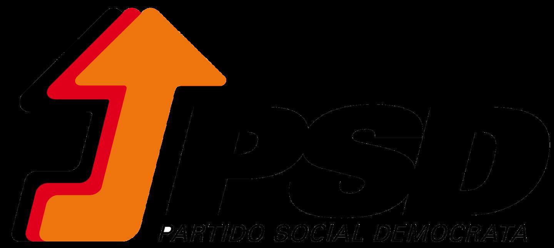 Logo PSD – portugalskiej Partii Socjaldemokratycznej