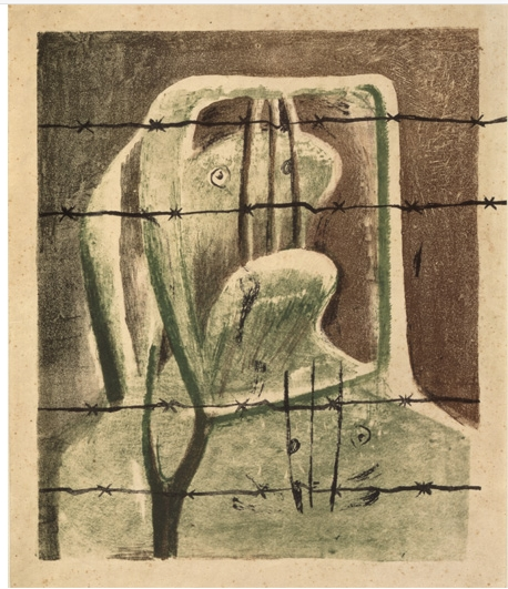 Henry Moore, Hiszpański więzień / Spanish Prisoner ok. / around 1939