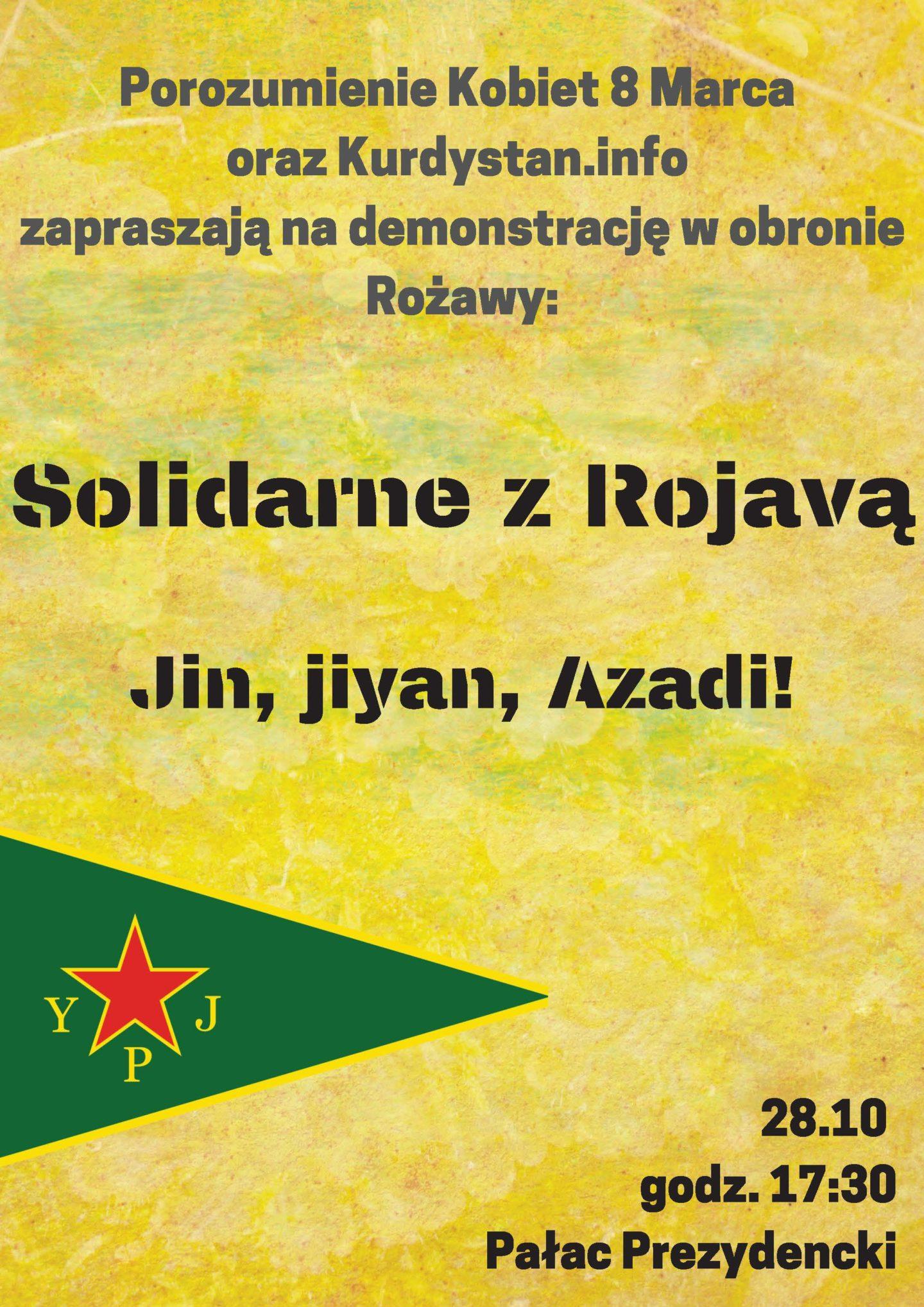 Solidarne z Rożawą