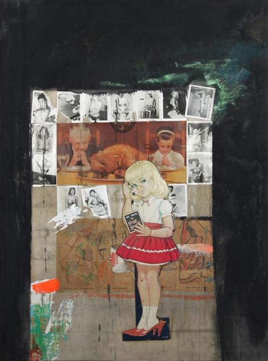 Boris Lurie, untitled (Suzy Sweet), 1963.